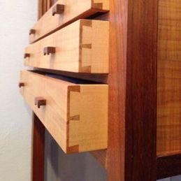 display cabinet - drawer detail