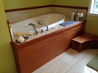 custom bathtub fascia