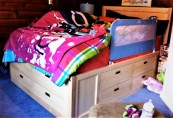 12 drawer children's bed