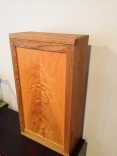 oak wall box