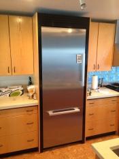 Refrigerator fascia panel
