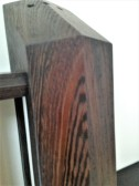 wenge armature - grain detail