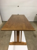 SKINNY trestle table