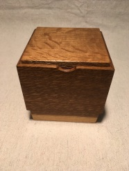 fumed oak box