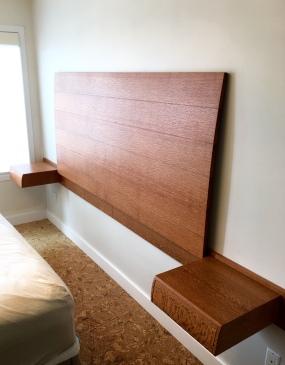 headboard and nightstands