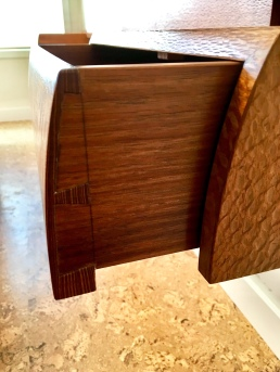 Floating Nightstand - drawer detail