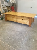 tamarack live edge coffee table