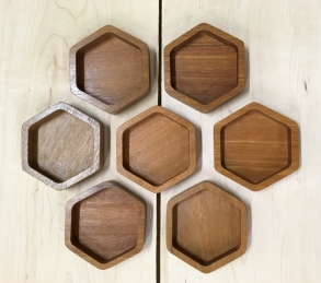 """GEO"" trays - hexagons"