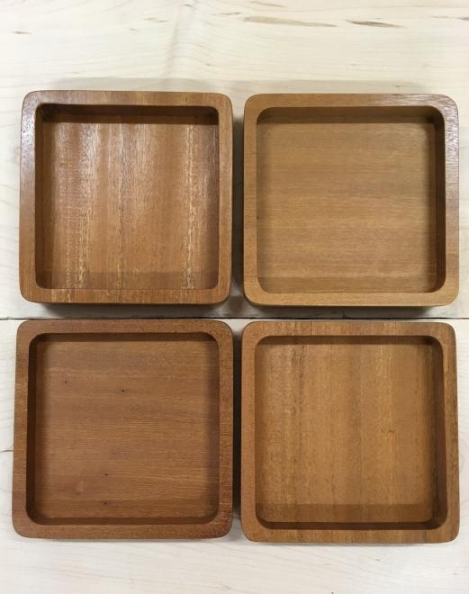 """""""GEO"""" trays - squares"""